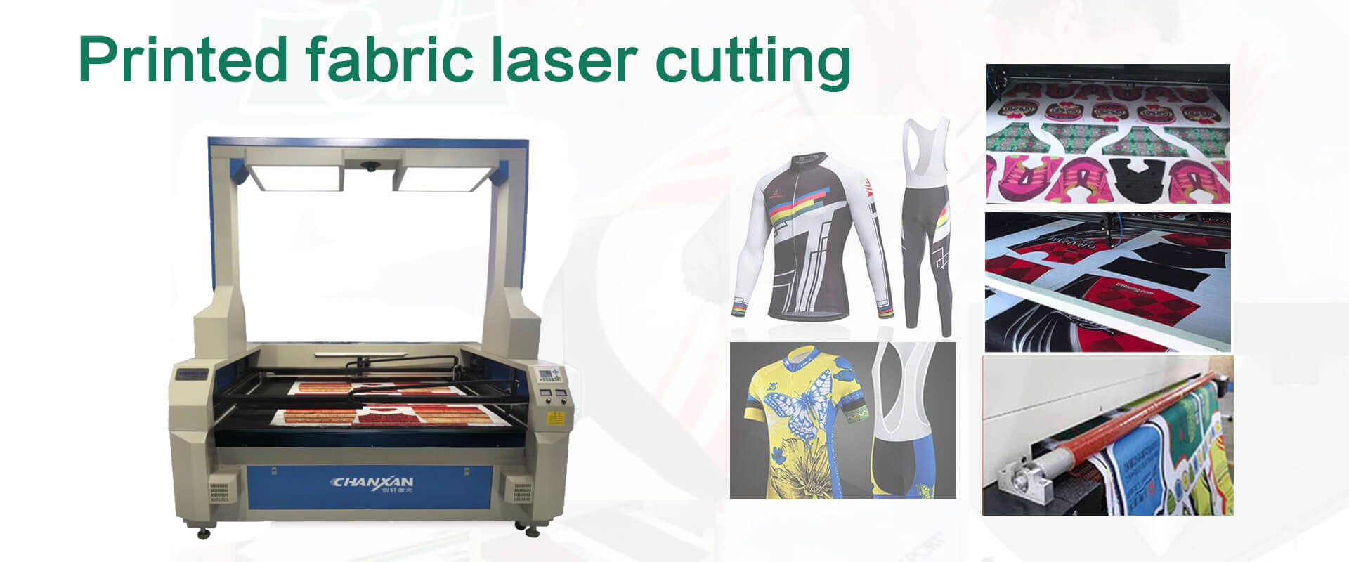 sublimation laser cutting printed fabric