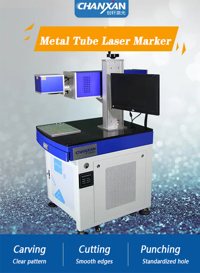 CX-60S CO2 LASER MARKING MACHINE  WITH RF METAL TUBE