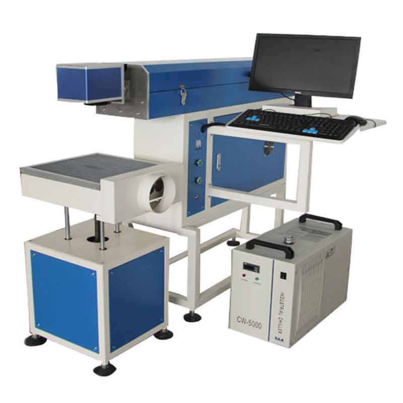CX-80F CO2 LASER MARKING  MACHINE WITH GLASS TUBE